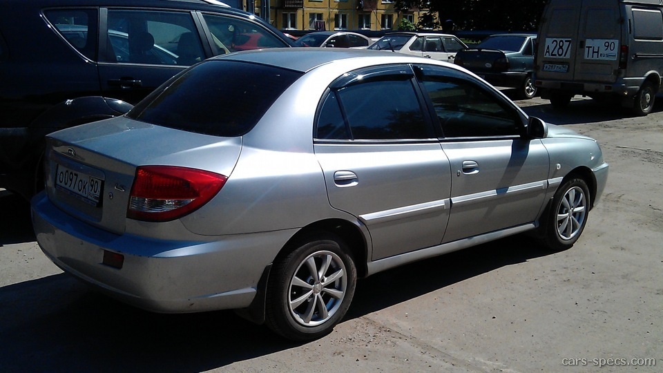 2003 kia rio sedan specifications pictures prices. Black Bedroom Furniture Sets. Home Design Ideas