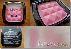 nyx blush pinky