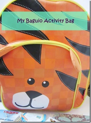 my baguio activity bag