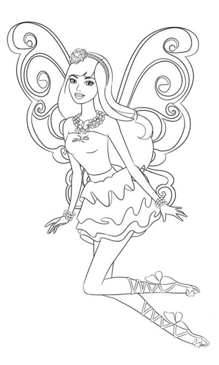Barbie e o Segredo das Fadas,barbie colorir,barbie coloring,barbie fada,barbie coloriage