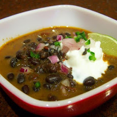 South Beach Black Bean Soup