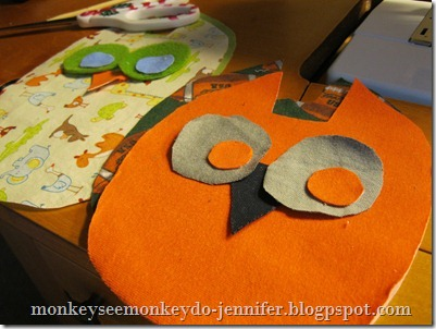 Owl Stuffie and pattern (3)