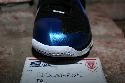 nike lebron 9 pe kentucky wildcats away 2 10 The Collection: Kentucky Wildats PEs with LeBron 9 Away Edition
