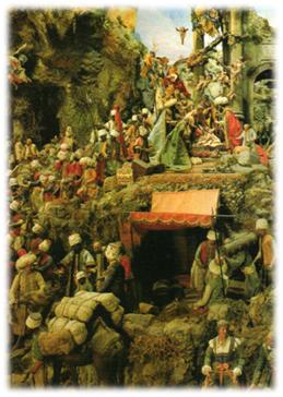 Pesebre de Michel Cuciniello,1879