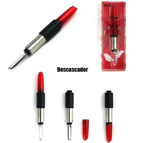 Descascador-Formato-Batom-Vermelho-1