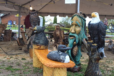 Carvings at Hackensack