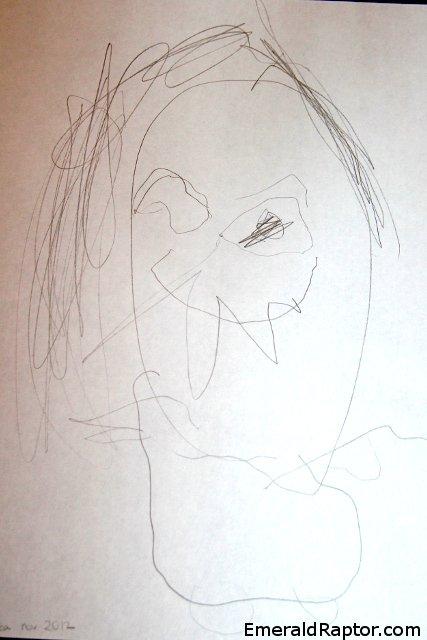 Fe, alv, Tingeling tegning