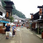 Japanese village at Edo Wonderland in Nikko, Totigi (Tochigi) , Japan