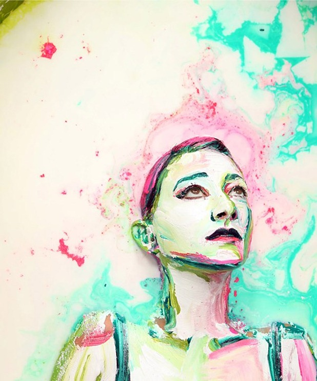 human paintings by alexa meade and sheila vand 6