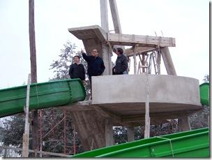 El Secretario de Turismo visitó el emprendimiento Parque Acuático Poseidón