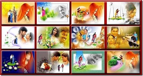 Indian Wedding Album Templates Designs PSD File ( Photo editing ) Free ...