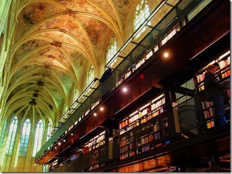 Книжный магазин вместо церкви