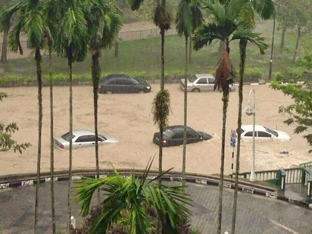 Banjir Kilat di UIA Gombak IMG-20140604-WA0042