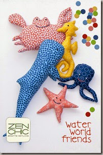 Zen Chic Water World Friends Figures