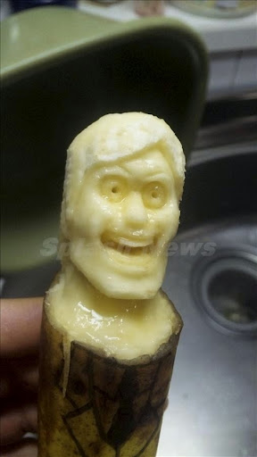 These a-peeling sculptures are sure to make you go bananas, with the faces of Elvis and Davey Jones from Pirates of The Caribbean. The detailed works of fruity art are carved with a toothpick and a spoon. Each piece is completed fast, before the bananas start to rot.<br /><br /> <P><br /><br /> Pictured: Banana sculptures<br /><br /> <P><br /><br /> <B>Ref: SPL271553  260411  </B><BR/><br /><br /> Picture by: Keisuke Yamada / Solent News / Splash News<BR/><br /><br /> </P><P><br /><br /> <B>Splash News and Pictures</B><BR/><br /><br /> Los Angeles:	310-821-2666<BR/><br /><br /> New York:	212-619-2666<BR/><br /><br /> London:	870-934-2666<BR/><br /><br /> photodesk@splashnews.com<BR/><br /><br /> </P>