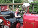 Old time fire truck fun!