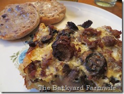 tater tot egg bake - The Backyard Farmwife
