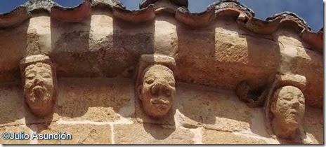 Calatañazor - ábsides de la ermita de la Soledad