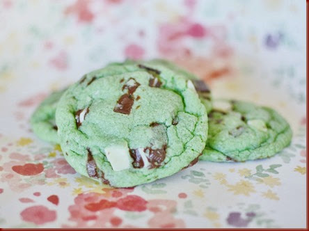 This is a fun dessert to do with the kids for St Andes Mint Cookies