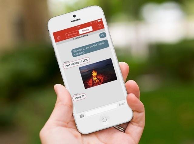 FireChat - aplicación para chatear sin usar Internet