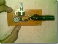 Alarm Anti Maling Sensor Cahaya LDR dan IC NE555