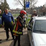 Gemeenteraad Pekela op werkbezoek bij de brandweer - Foto's Martin Ritzema