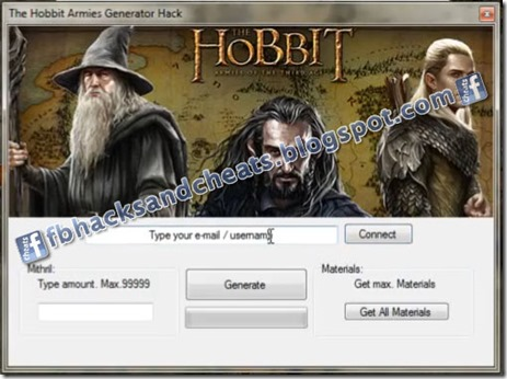 The Hobbit: Armies of the Third Age Hack Cheats Tool