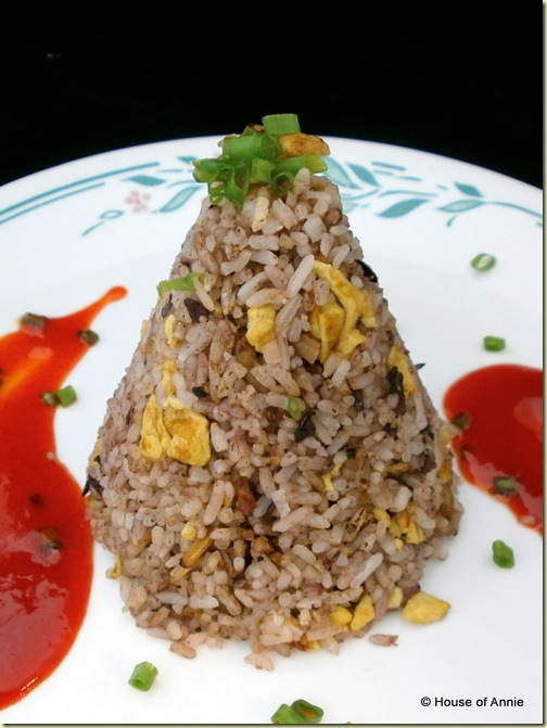 Fried Rice with Anchovies and Dabai