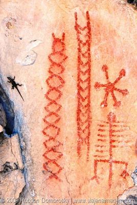 pinturas rupestres no Piauí