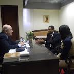 Dom Murilo se reúne com secretária Municipal de Saúde e o vereador Joceval Rodrigues