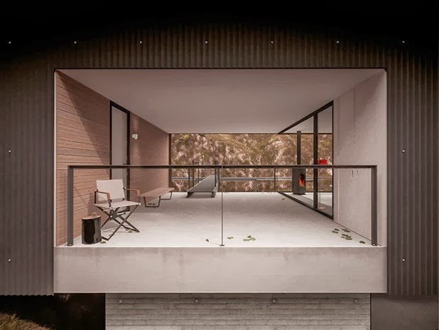 house for a photographer by hyde   hyde architects 6