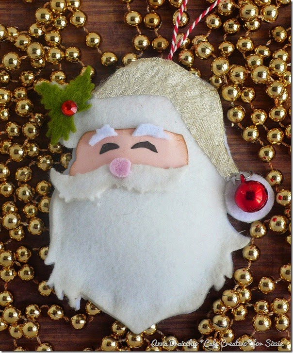 cafecreativo - sizzix big shot - christmas ornament - santa (2)