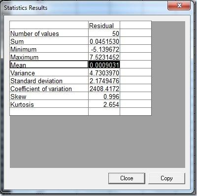 F39Statistics Results