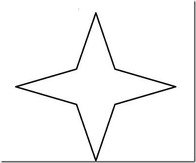 plantillas navidad estrella
