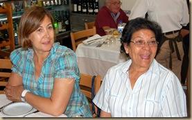 Anabela Dias e Filomena Simões,colegas