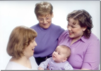 4Generations - Doris Wicks-Pat Maltzen-Melissa Michalek-Mikayla Michalek