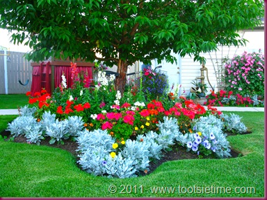 tootsie time the victorian garden, Garden idea
