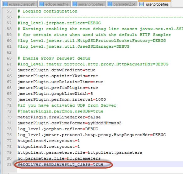 webDriverJmeter
