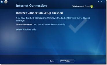 Fix No Internet Access Error Message On Windows Media Center 6