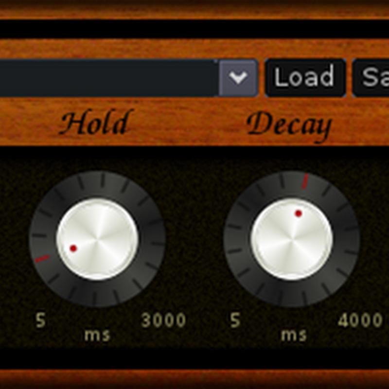 abGate processore di dinamica utile all'esclusione di rumori di fondo indesiderati dalle registrazioni.