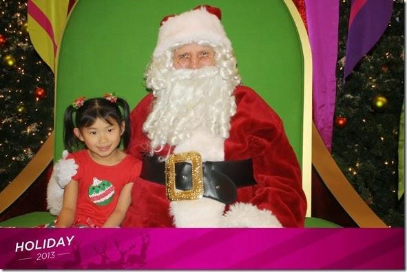Santa 2013  4yo