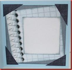 Blått spill-kort (3)