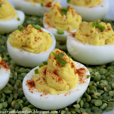 Egg-cellent Honey Dijon Mustard Deviled Eggs