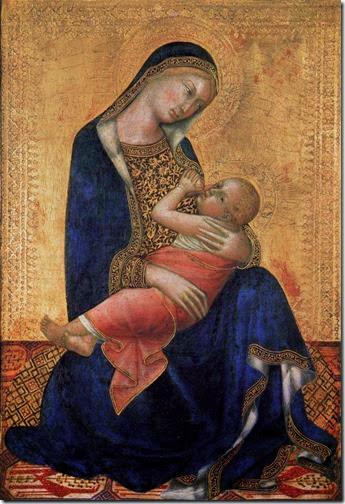 Virgen de la Leche - Lippo Memmi - 1340
