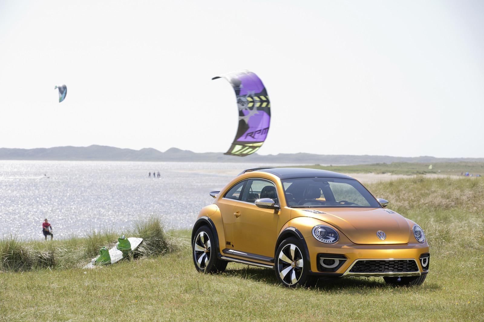 Внедорожное купе VW Beetle Dune Concept