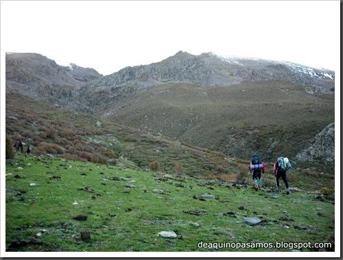 Picon de Jerez 3090m, Puntal de Juntillas y Cerro Pelao 3181m (Sierra Nevada) (Emma) 0229