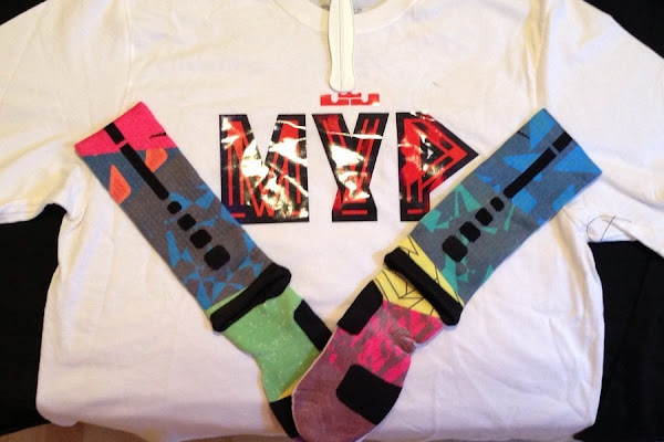 Nike Celebrates LeBron James8217 4th MVP with new Tees amp Socks