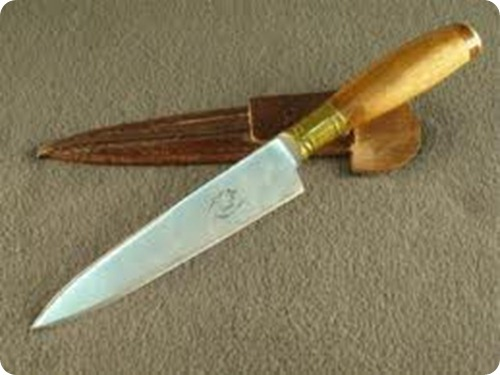 folklore argentino, cuchillo, objetos