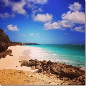 Crane Beach, Barbados Autora Carol Wieser