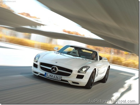 Mercedes-Benz SLS AMG Roadster 4